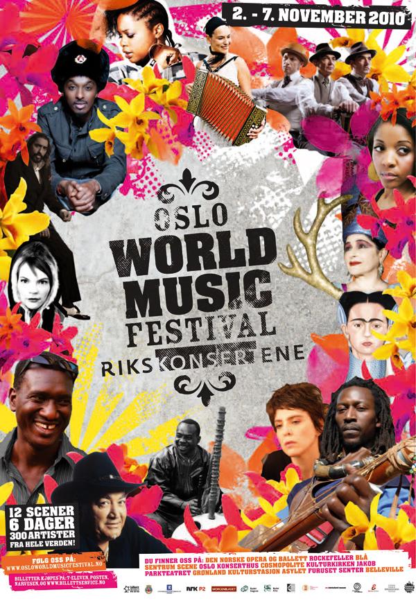 World Music Festival Logo Oslo World Music Festival 2010